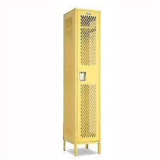 Invincible II Single Tier 1 Wide Locker (Unassembled)