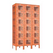 <strong>Penco</strong> Invincible II Six Tier 3 Wide Locker (Unassembled)