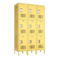 <strong>Penco</strong> Invincible II Triple Tier 3 Wide Locker (Assembled)