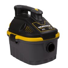 4 Gal. 5.0 Peak HP Portable Wet/Dry Vac