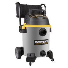 16 Gallon 6.5 Peak HP Stainless Steel Wet/Dry Vacuum