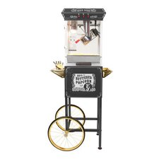 <strong>Funtime Popcorn Machines</strong> 8 oz. Sideshow Hot Oil Kettle Popcorn Machine