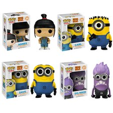 Despicable Me 2 Pop! Vinyl Figures 4 Piece Set