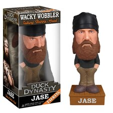 Duck Dynasty Jase Robertson Talking Wacky Wobbler Figure