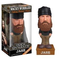 Duck Dynasty Jase Robertson Talking Wacky Wobbler Figure