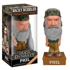 Duck Dynasty Phil Robertson Talking Wacky Wobbler Figure