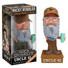 Duck Dynasty Si Robertson Talking Wacky Wobbler Figure