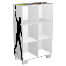 CubeIts Sports 6 Cube Bookcase