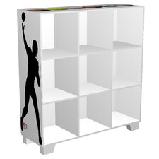 CubeIts Sports 9 Cube Bookcase