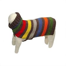 Hand Loomed Fiesta Dog Sweater