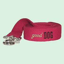 "<strong>George SF</strong> ""Good Dog"" Cotton Leash"