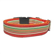 Cotton Rick Rack Dog Collar