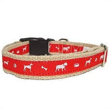 <strong>George SF</strong> Vintage Jute Dog Collar