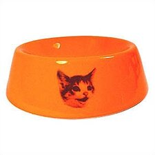 <strong>George SF</strong> Slope Side Happy Cat Bowl