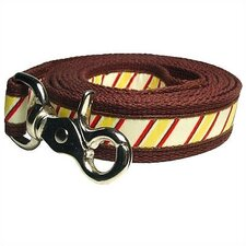 <strong>George SF</strong> Repp Stripe Cotton Dog Leash