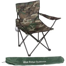 <strong>Blue Ridge Novelty</strong> Camouflage Folding Chair