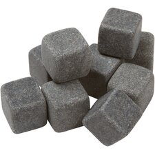 <strong>EZ Drinker</strong> Whiskey - Premium Liquor Chilling Stones (Set of 9)