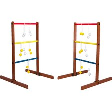 8 Piece Wooden Ladder Toss Set