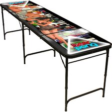 """96"""" Pin Up Girls Beer Pong Table"""