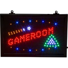 Game Room Billiards LED Sign and Light