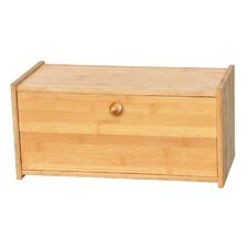 Bamboo Square Bread Box