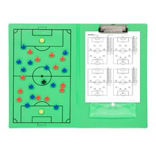 Erasable Magnetic Soccer Clipboard