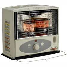 10,000-BTU Indoor Kerosene Powered Radiant Heater with Electronic Ignition