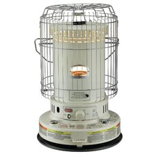 Portable 23,000-BTU Indoor Kerosene Powered Convection Heater with Electronic Ignition