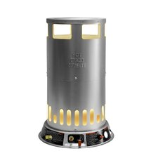 Portable 200,000-BTU Propane Powered Convection Heater with 1-Handed Piezo Ignition