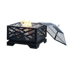 Martin Wood Burning Fire Pit in Rubbed Bronze