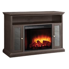"Riley Media Cabinet and 23"" Electric Fireplace"