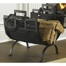 Wrought Iron Fireplace Wood Holder