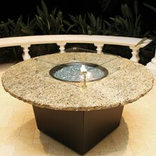 "Naples 54"" Round Fire Table"