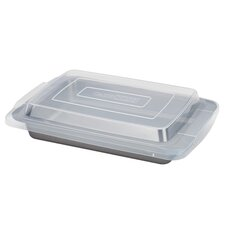 "Basics 13"" x 9"" Nonstick Bakeware Covered Cookie Pan"
