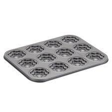 <strong>Cake Boss</strong> 12 Cup Flower Molded Cookie Pan
