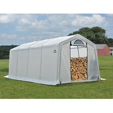 Polyethylene Firewood Seasoning Shed