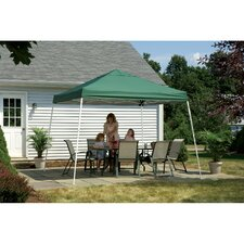 12' x 12' Pop-up Canopy with Slant Legs and Black Roller Bag