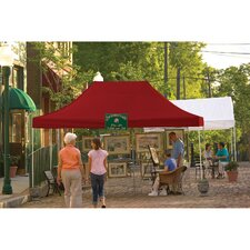 Straight 10 Ft. W x 15 Ft. D Canopy
