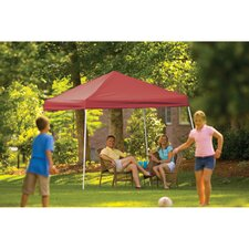 8' x 8' Pop-up Canopy with Straight Legs and Black Roller Bag