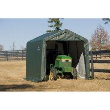10' x 8' x 8' Peak Style Shelter