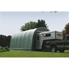 14' Wide Round Style Shelter