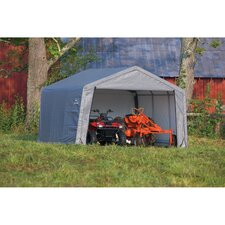 <strong>ShelterLogic</strong> 12' x 12' x 8' Peak Style Storage Shed