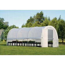Pro RoundTop 10' W x 19' D Greenhouse with Hinged Doors
