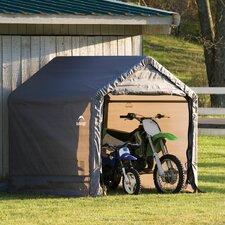 6' x 6' x 6' Peak Style Storage Shed