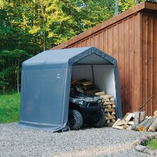 <strong>ShelterLogic</strong> 8' x 8' x 8' Peak Style Storage Shed