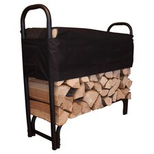 "48"" Covered Firewood Rack"