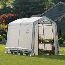 "GrowIt 6'6"" H x 6' W x 8' D Greenhouse-in-a-Box"