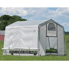 GrowIt 8' H x 10' W x 10' D Greenhouse-in-a-Box
