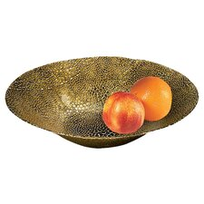 "Snakeskin 15"" Serving Bowl"