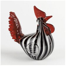 Art Glass Rooster
